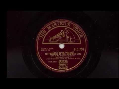 Arthur Askey 'We're Gonna Hang Out The Washing On The Siegfried Line' 1939 78 rpm