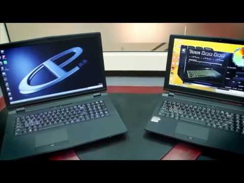 CYBERPOWERPC Xplorer Xtreme X5 and X7 Gaming Notebooks