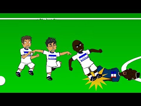 🇧🇷FRANCE vs HONDURAS 3-0🇧🇷 by 442oons (World Cup 2014 Cartoon 15.6.14)