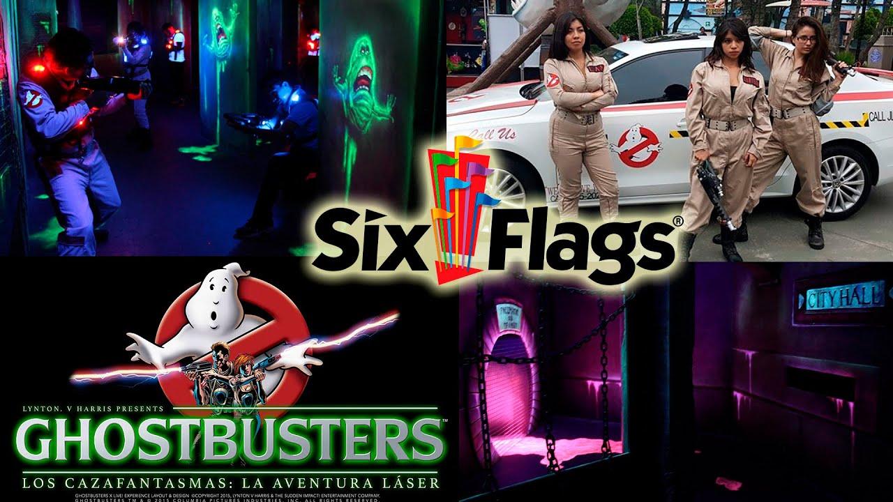 Ghostbusters cazafantasmas six flags mexico nuevo juego for Cazafantasmas juego de mesa
