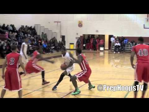 Marqywell Jackson 2014 East Village Prep highlights at the Roundball Classic