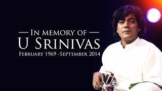 Mandolin Srinivas - In Memory of U.Srinivas - Pahi Pahi Ganapathi - Classical Instrumental