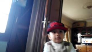 3 years old baby dancing