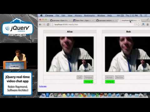 Using jQuery to Build a Federated, Real-Time Video Chat App