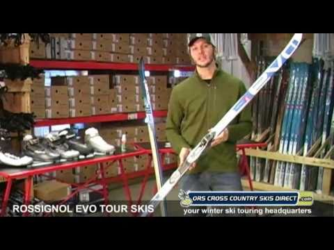 Rossignol Evo Tour NIS Nordic Skis Review Video by ORS Cross Country Skis Direct