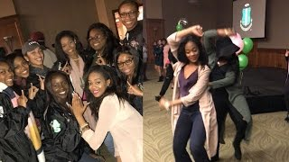 Alpha Kappa Alpha After College Vlog- Grad Chapter and AKA Probate