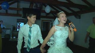 Шикарное исполнение песни невестой для жениха на свадьбе ! Энергетик ,