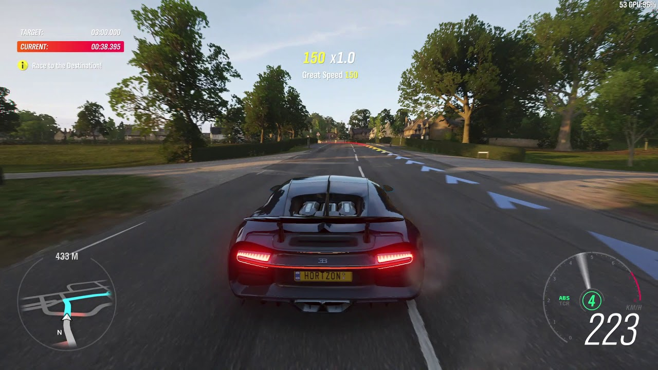 Forza Horizon 4 Demo - Bugatti Chiron (no more glitch!)