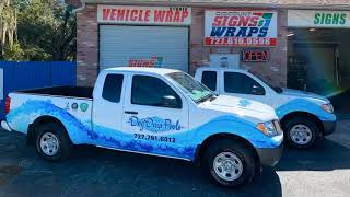 Nissan Frontier Full Wrap by Discount Signs and wraps.