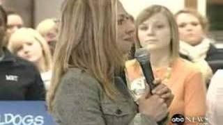Chelsea Clinton On Monica Lewinsky