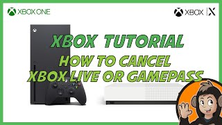 How to Cancel Xbox Live or other Xbox subscriptions like Xbox Game Pass