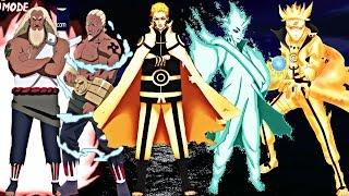 Naruto:Top 10 Strongest Chakra Mode Users(Naruto Shippuden,Naruto The Last,NarutoGaiden,Boruto Movie