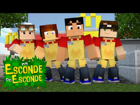 Minecraft: YOUTUBERS NO MCDONALDS! (Esconde-Esconde)