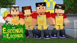 Minecraft: YOUTUBERS NO MCDONALDS! (Esconde-Esconde)