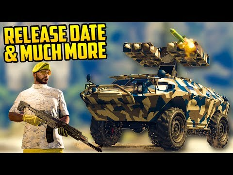 HUGE NEW LEAK OF GUN RUNNING DLC INFO! RELEASE DATE, NUMBER OF CARS, WEAPONS & MISSIONS!