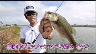 EG going Vol.22 関和学 霞ヶ浦水系・プロップマジック編 BASS