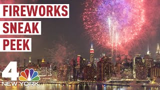 Macy's Fourth of July Fireworks: Sneak Peak of July 4 Show from NYC's Brooklyn Bridge | NBC New York