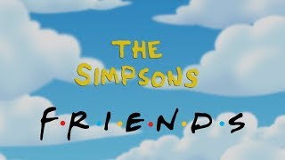 Friends References in The Simpsons