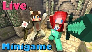 LIVE : Minecraft มินิเกมส์ กลับมาจากญี่ปุ่นแล้วน่ะเด็กๆ Ft.Taejk