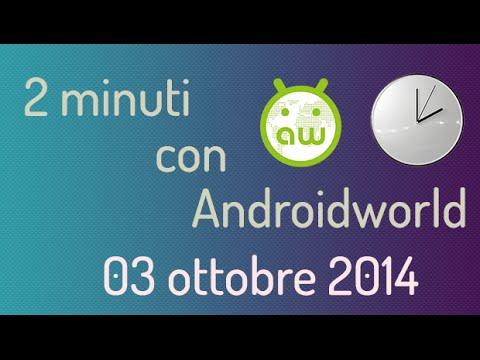 Motorola Nexus 6 e Android L - 2 minuti con AndroidWorld.it - 03 ottobre 2014