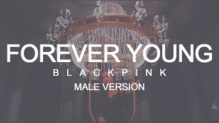 MALE VERSION | BLACKPINK - Forever Young