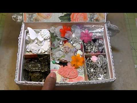 Shabby Chic Jewelry Box/Resin Tutorial
