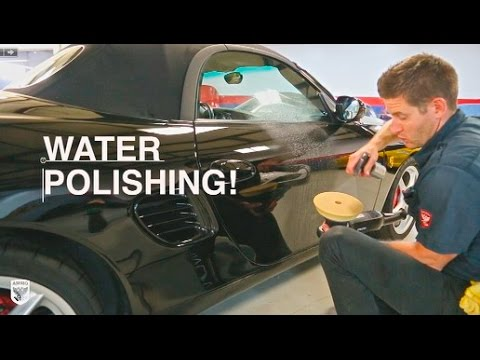 WATER POLISHING: How to Polish Paint with just Water: Porsche Boxster