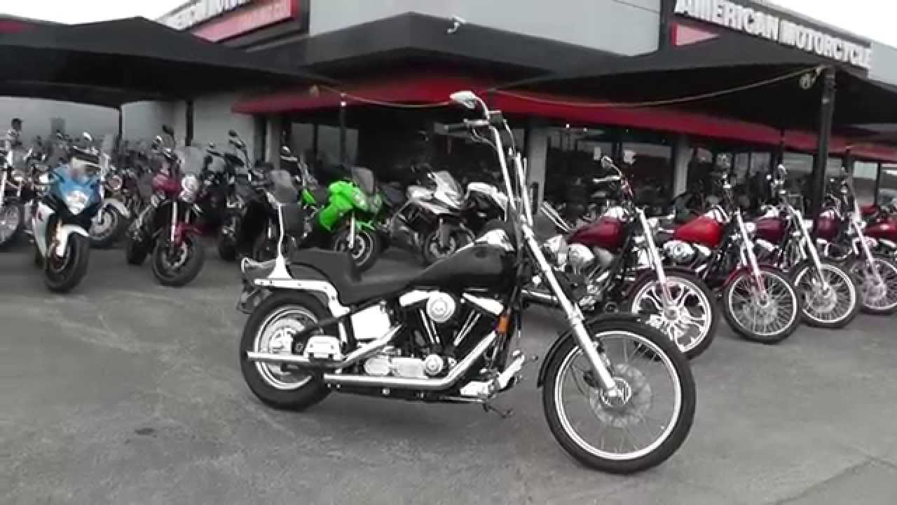 035255 1994 Harley Davidson Softail Custom Used Motorcycle For You