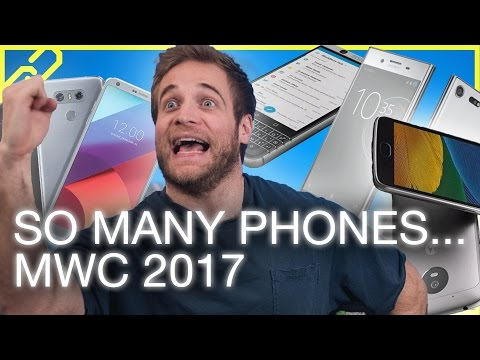 Newest Phones at MWC 2017: LG G6, Sony Xperia XZ Premium, Moto G5 + More