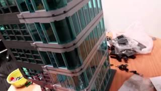 Lego Avengers Tower MOC Update #1 10 Levels high