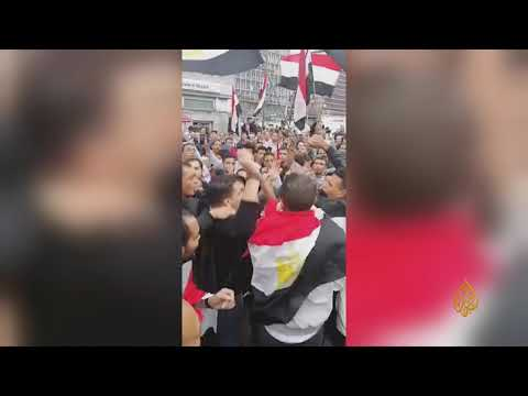 ???? وقفات احتجاجية ومظاهرات نفذها مصريون في مدن وعواصم عالمية دعما للمظاهرات في مصر ضد السيسي  - نشر قبل 7 ساعة