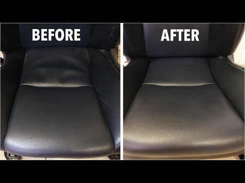 How To: Clean and Get Rid of Sagging Leather Seats!