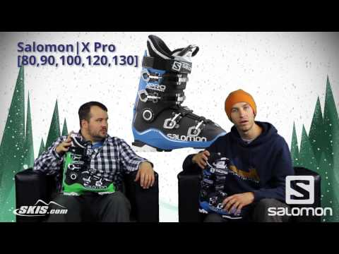 2016 Salomon XPro 80, 90, 100, 120 and 130 Mens Boot Overview by SkisDotCom