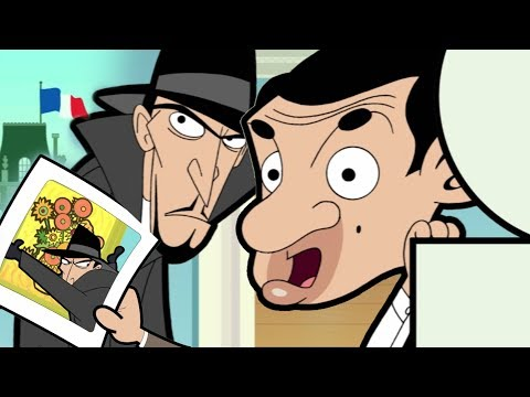Art Thief | Funny Episodes | Mr Bean Cartoon World