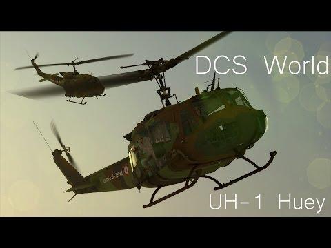 DCS UH-1 Huey - Sauvetage en pleine ville sous le feu !