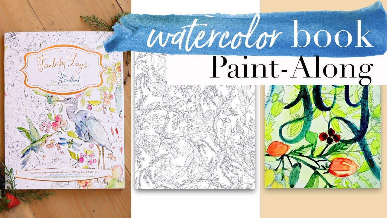 Creative Tips for Using Watercolor in Coloring Books for Adults ...