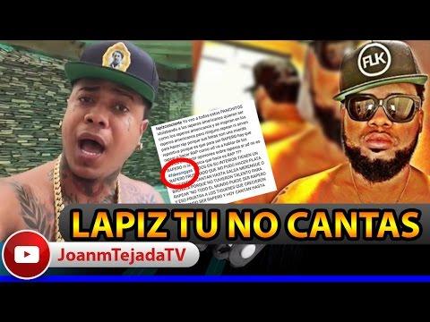 URGENTE!!! Shelow Shaq LE RESPONDE a Lapiz Conciente LO DESAFIA A UNA BATALLA   Joan Tejada