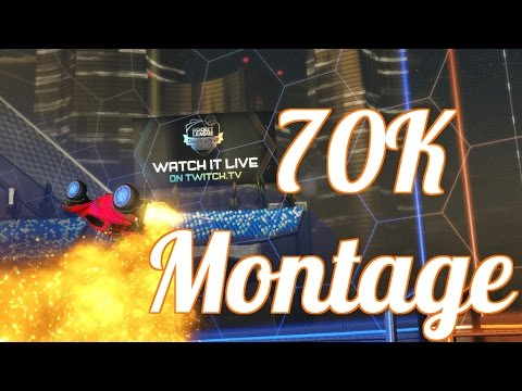 Rocket League - 70k Montage - YouTube
