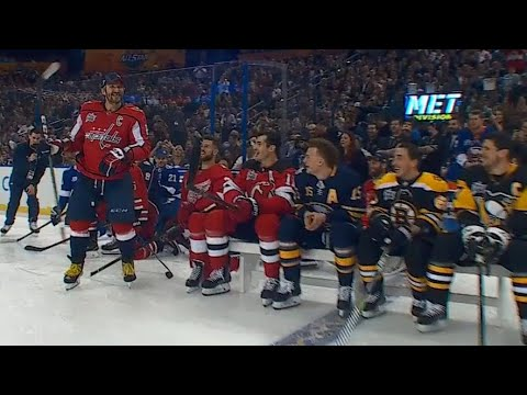 Ovechkin wins 2018 NHL All-Star hardest shot with 101.3 MPH blast