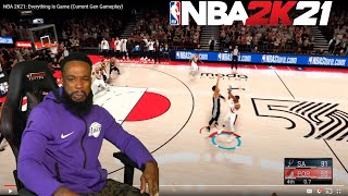 NBA 2K21 GAMEPLAY! WHAT IS THIS SHOT METER?!