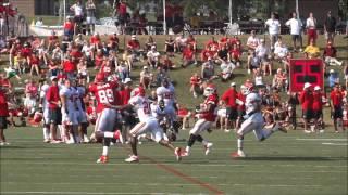 Kansas City Chiefs Training Camp Video: 8-1-2013