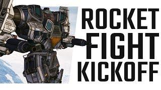 Rocket Fight Kickoff! Mauler Hero
