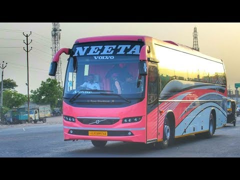 Parade Of Volvo B8rs Sleeper Buses Of Neeta Travels Youtube