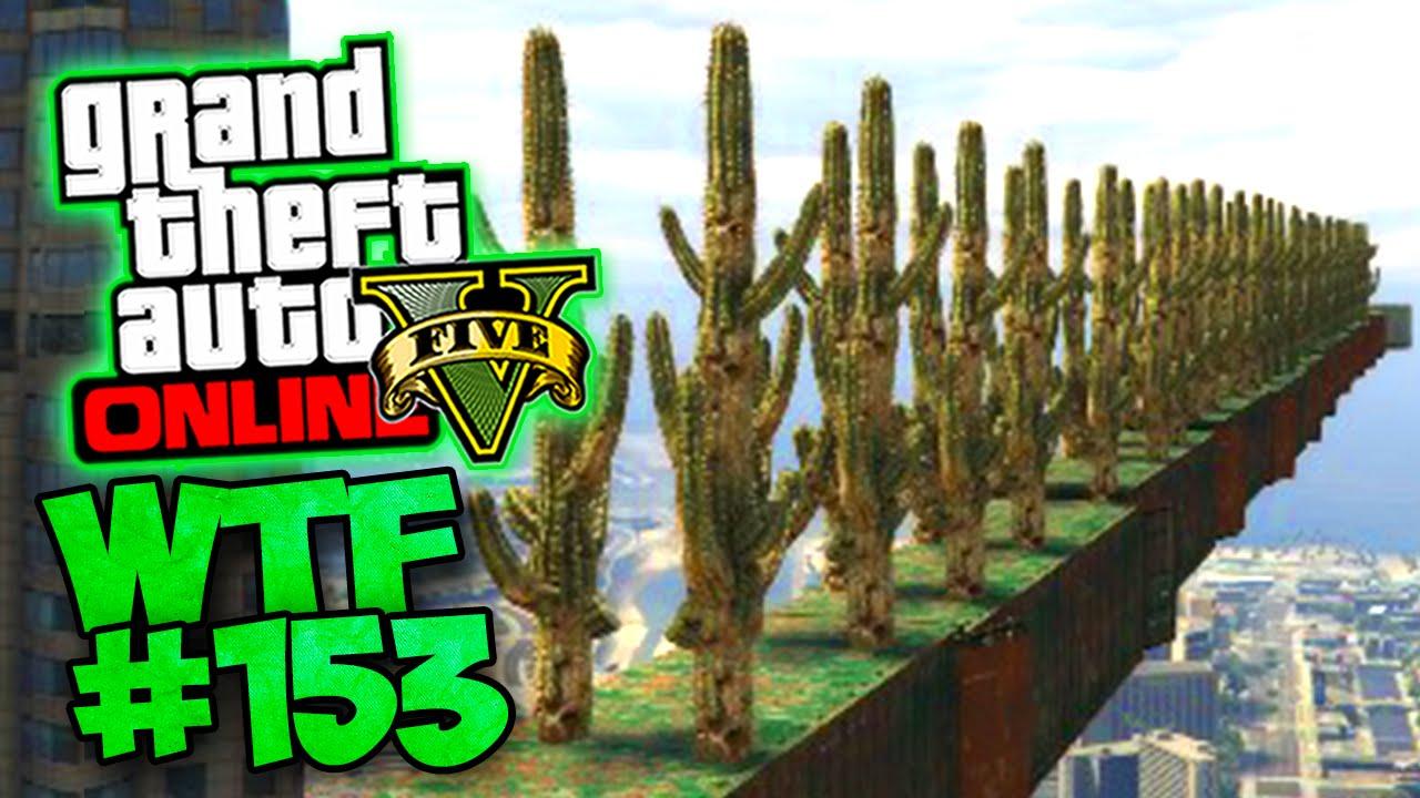 Download 100% WTF ! AIE ÇA PIQUE ! (CACTUS PARTY) GTA 5 ONLINE