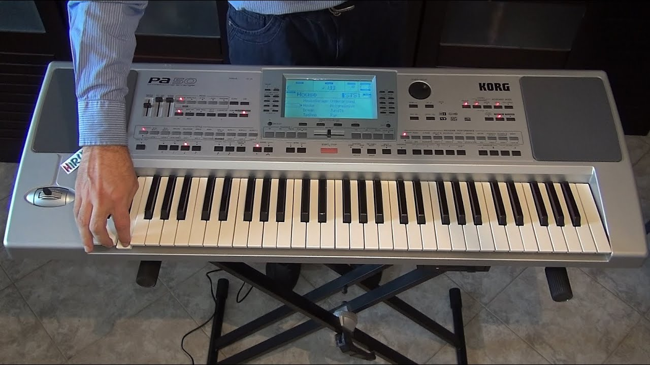 KORG PA50 DRIVER FOR PC