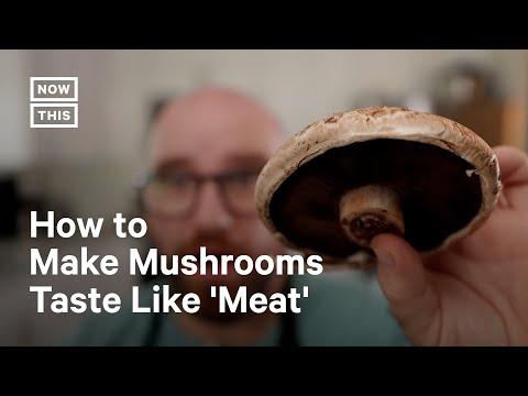 Vegan Chef Turns Mushrooms Into 'Tuna'