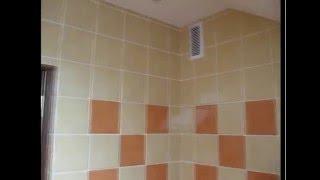 Плитка керамическая в ванной комнате.(, 2016-04-05T15:28:25.000Z)