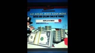 McDonalds Monopoly Codes