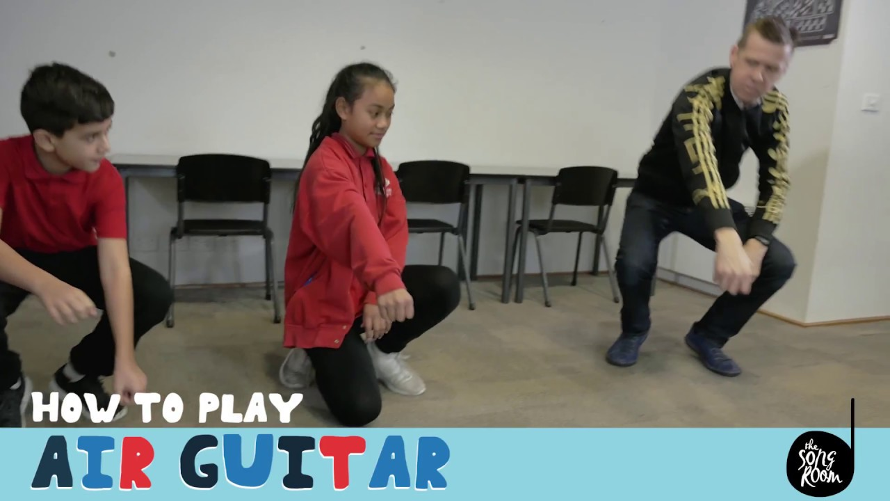 Watch How to Play Air Guitar video