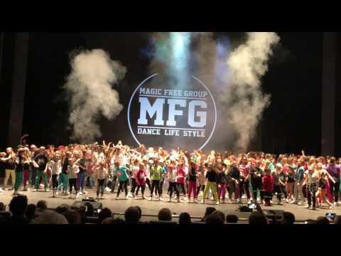 Magic free group - závěrečná Magic show 2016